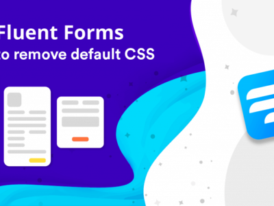 Remove fluent forms CSS styles
