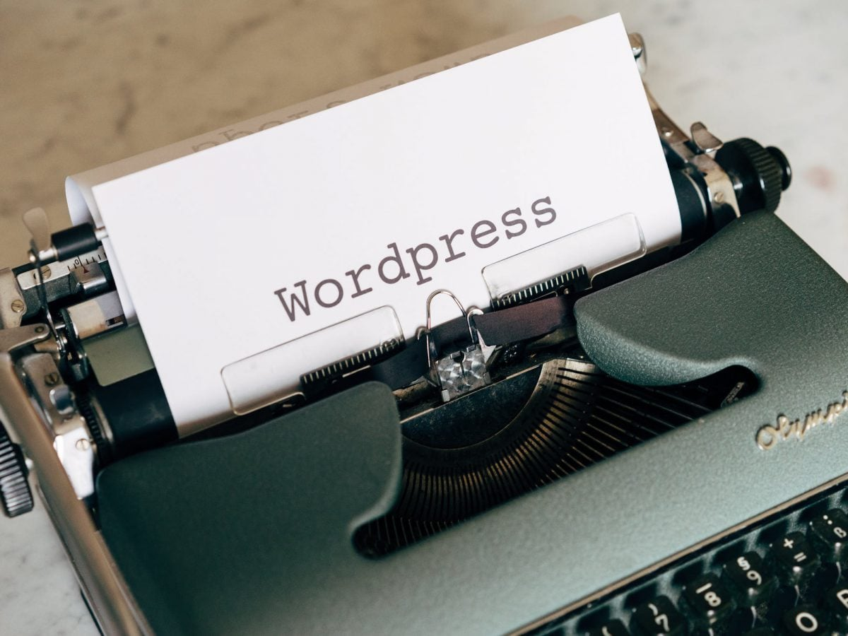 WordPress gutenberg typewriter